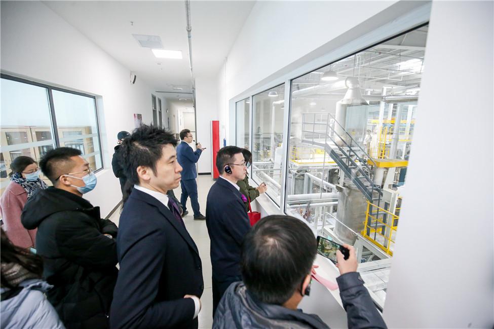 盈创汇智食品级再生聚酯切片工厂在津顺利开工